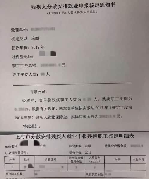 上海市残疾人就业保障金最新申报流程、残保金计算、残保金征缴、残保金缴纳地点大全插图(3)