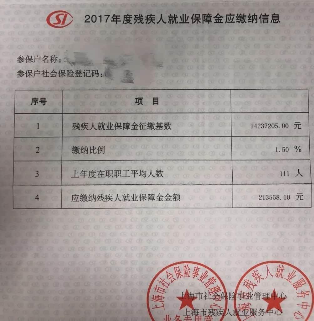 2020年关于上海企业缴纳残保金相关政策汇总插图